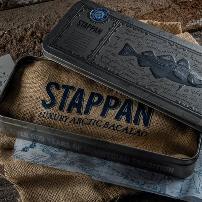 Steel a perfect fit  for North Export  delicacy: Stappan  luxury arctic Bacalao